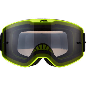 O'Neal B-20 Maschera Plain, neon yellow/black-gray